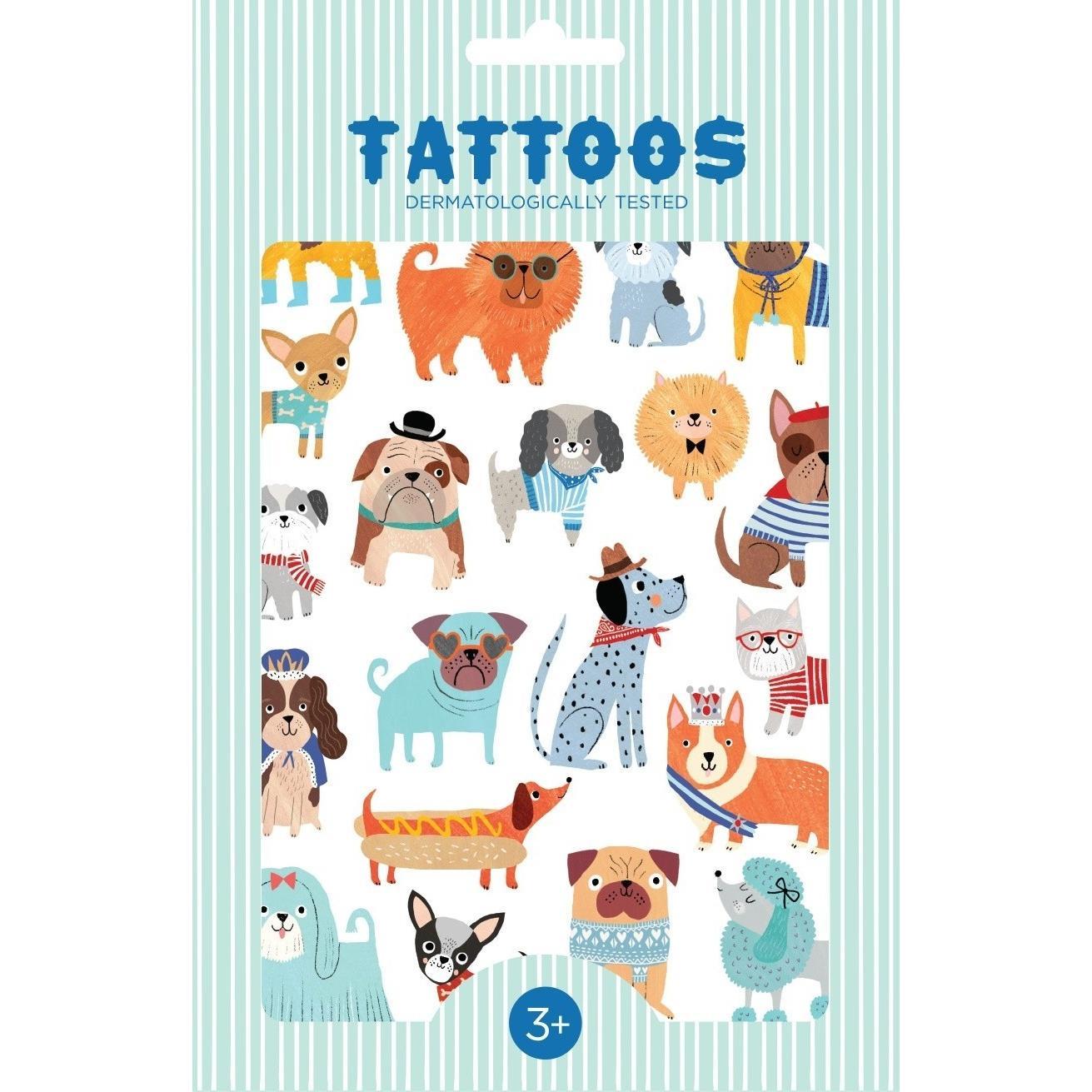 Honden Tattoos Petit Monkey
